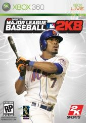 Box shot of Major League Baseball 2K8 [North America]