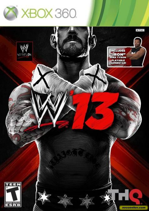 WWE '13 - XBOX360 - NTSC-U (North America)