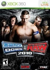 Box shot of WWE SmackDown vs. RAW 2010 [North America]