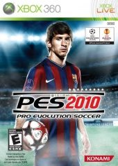 Pro Evolution Soccer 2010 NTSC-U (North America) front boxshot