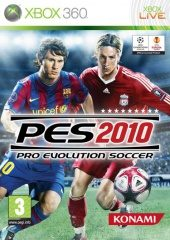Pro Evolution Soccer 2010 PAL (Europe) front boxshot
