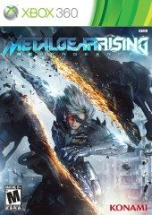 Box shot of Metal Gear Rising: Revengeance [North America]