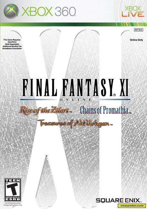 Final Fantasy XI - XBOX360 - NTSC-U (North America)