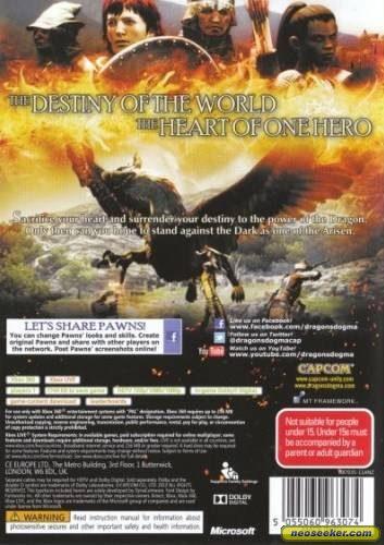 Dragon's Dogma - XBOX360 - PAL (Australia)