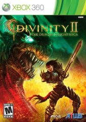 Divinity II: The Dragon Knight Saga NTSC-U (North America) front boxshot