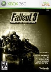 Box shot of Fallout 3: Game of the Year Edition [North America]