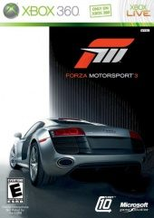 Forza Motorsport 3 (North America Boxshot)