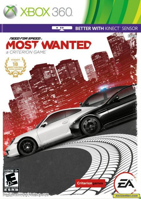Need for Speed: Most Wanted 2012 - XBOX360 - NTSC-U (North America)