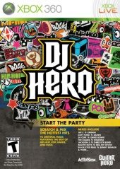 DJ Hero (North America Boxshot)