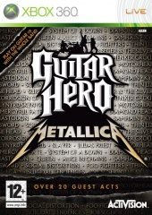 Box shot of Guitar Hero: Metallica [Europe]