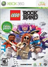 Box shot of Lego Rock Band [North America]