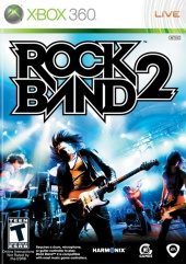 Box shot of Rock Band 2 [North America]