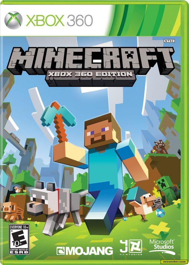 Xbox 360 Minecraft Cover Minecraft: Xbox 360 Ed...