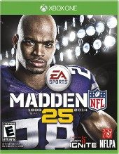 Box shot of Madden NFL 25 [North America]