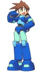 Mega Man Legends Concept art