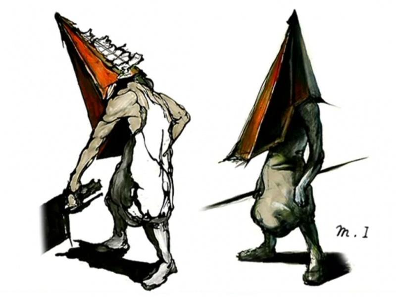 Silent Hill 2 Concept Art