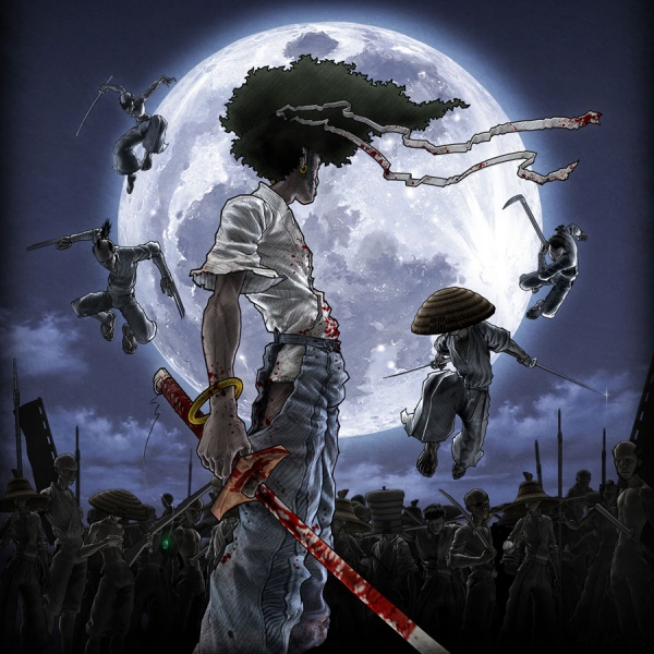 Afro Samurai Concept Art