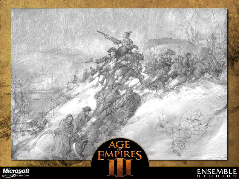 Age Of Empires III Concept Art - Neoseeker