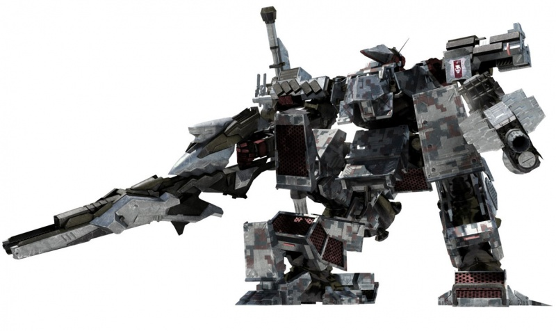 Armored Core V Concept Art - Neoseeker
