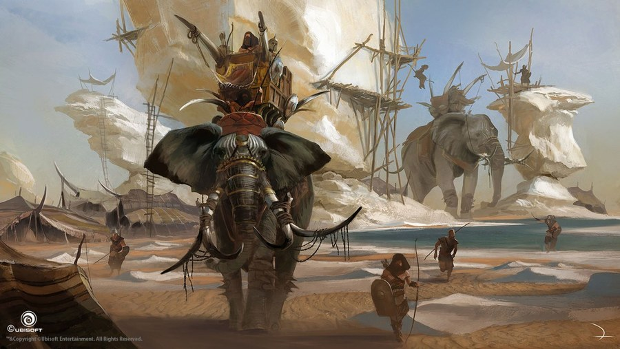 Assassin S Creed Origins Concept Art Neoseeker