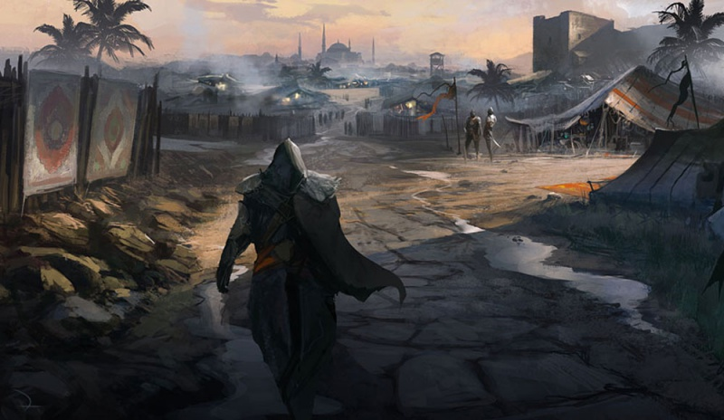 Assassin&#39-s Creed Revelations by Gilles Beloeil | Concept Art World
