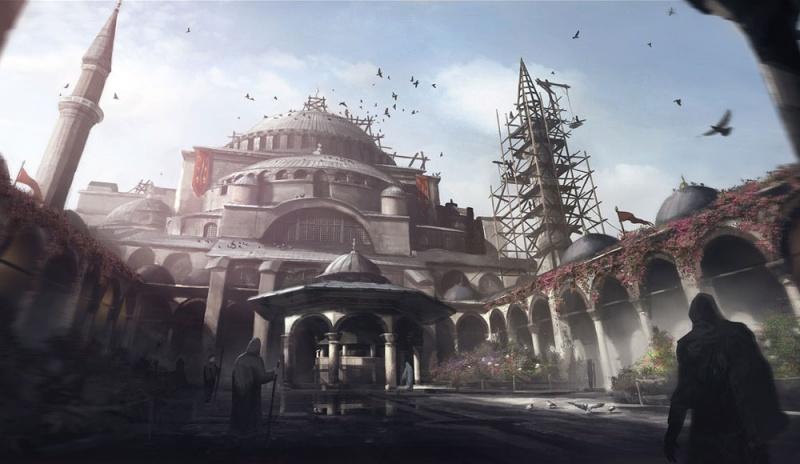 Assassin S Creed Revelations Concept Art