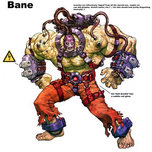 the dark knight rises bane concept art. Dark Knight Rises#39;: Bane