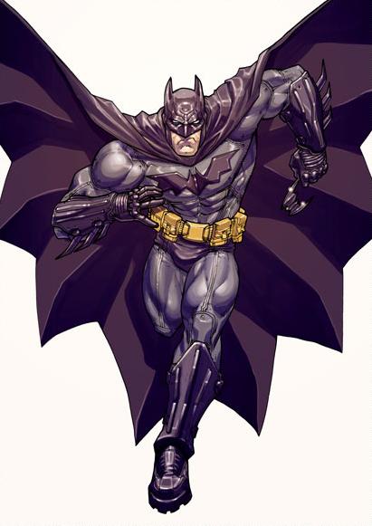 Batman Arkham Joker Concept Art