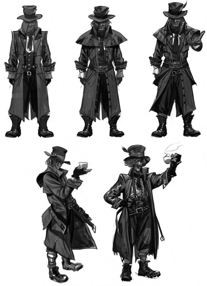 Batman Arkham Origins Concept Art