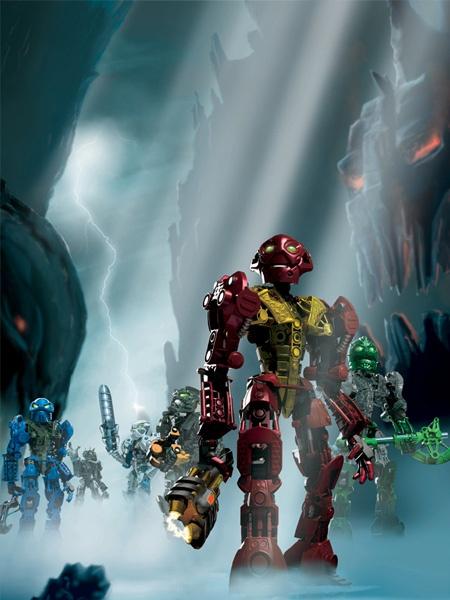 bionicle heroes concept art