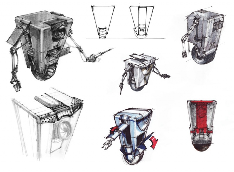Image Result For Simple Robot Concept Art