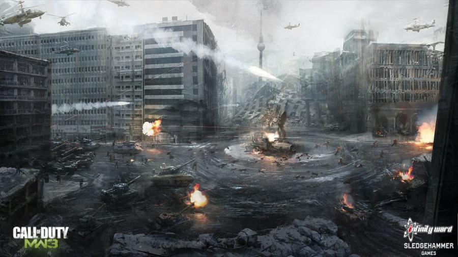Call of Duty: Modern Warfare 3 Concept Art - Neoseeker