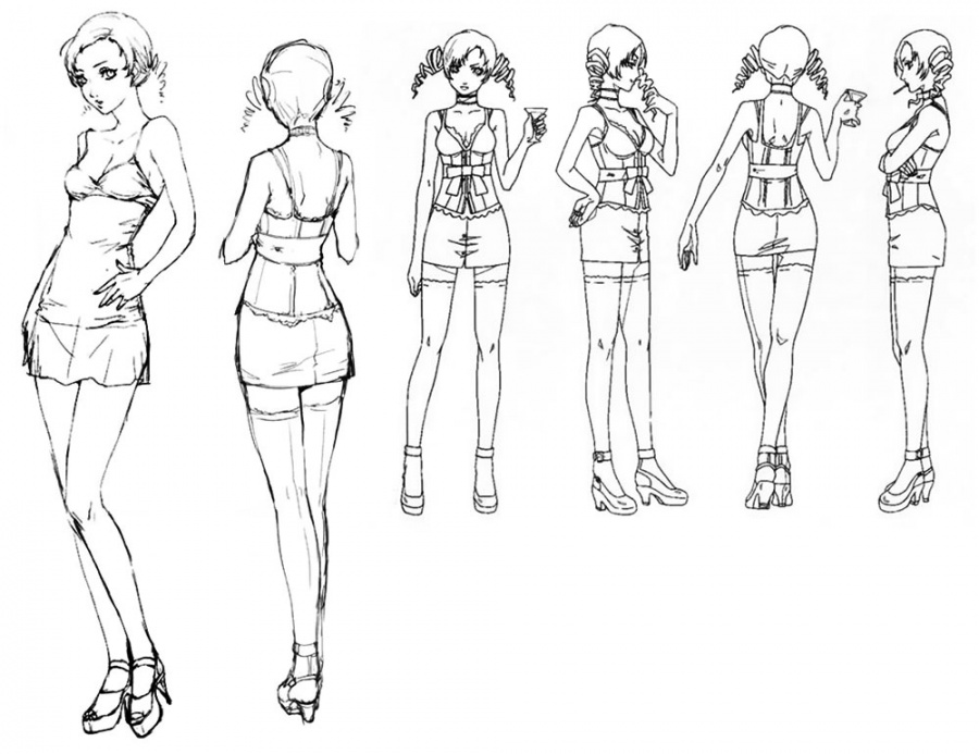 Nbos Character Sheet Designer Review : Catherine concept art