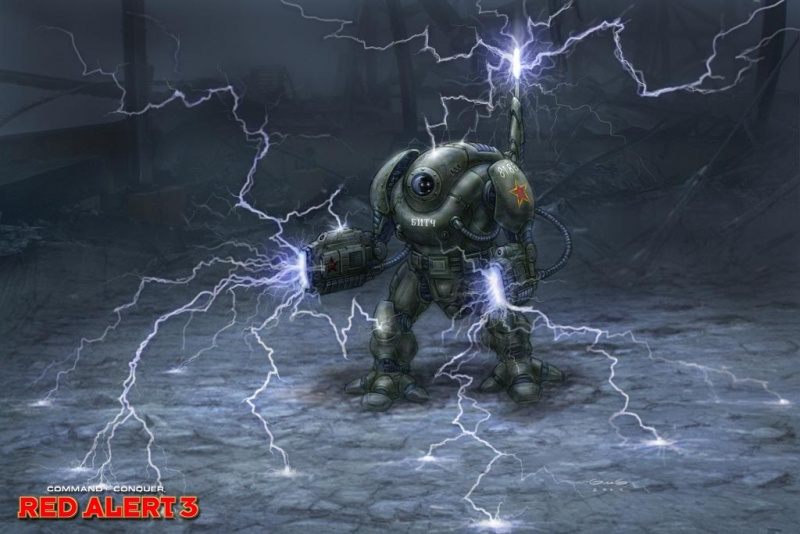 Command Amp Conquer Red Alert 3 Concept Art