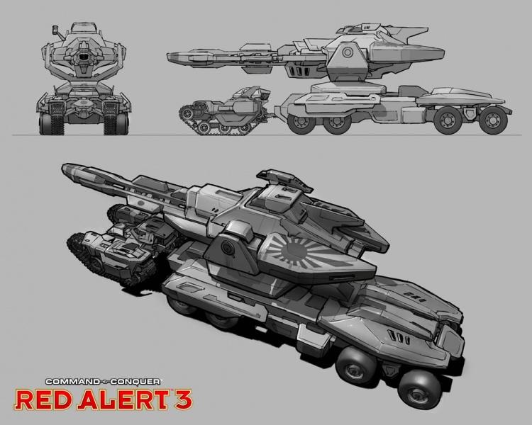 Command Amp Conquer Red Alert 3 Concept Art