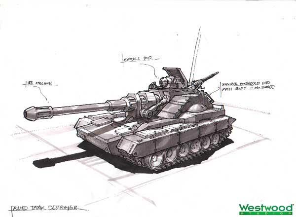 Concept Art Tank Rig