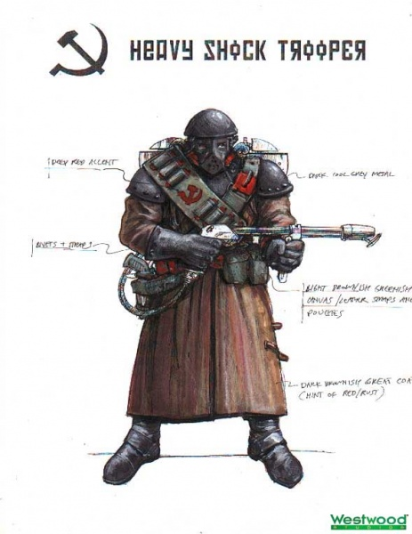Command Amp Conquer Red Alert 2 Concept Art