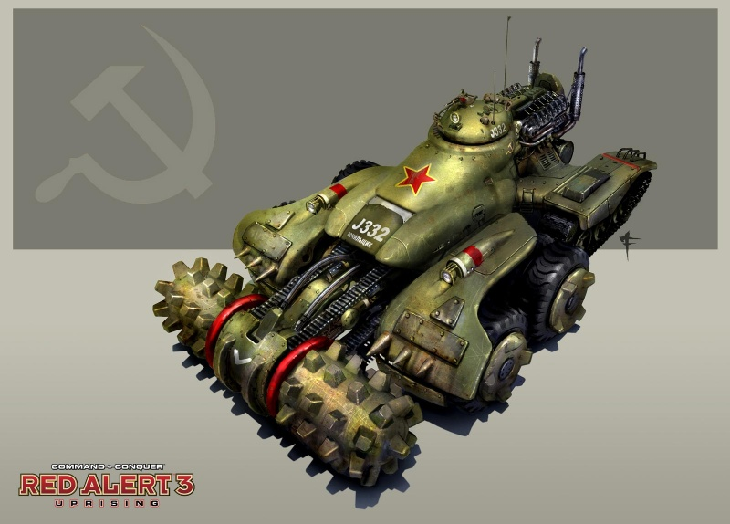 Command Amp Conquer Red Alert 3 Uprising Concept Art