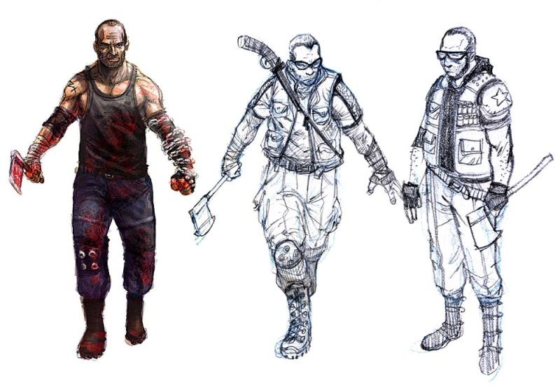 Dead Rising 2 Concept Art