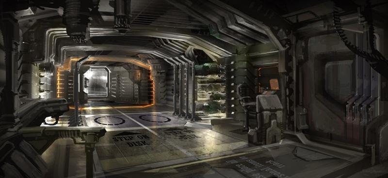 Dead space concept art for Total interior designs inc