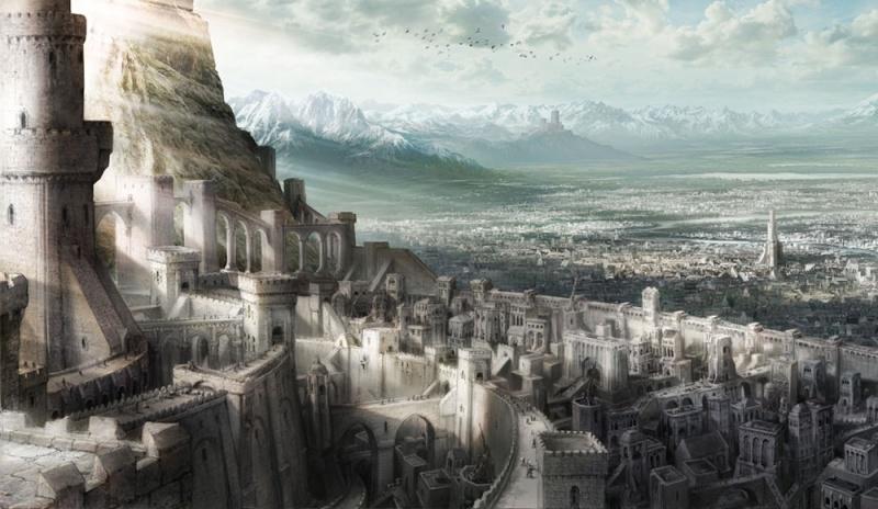 Demon City Concept Art