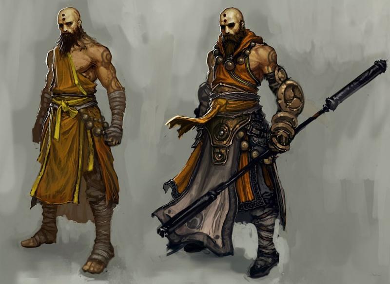 Diablo III Concept Art...