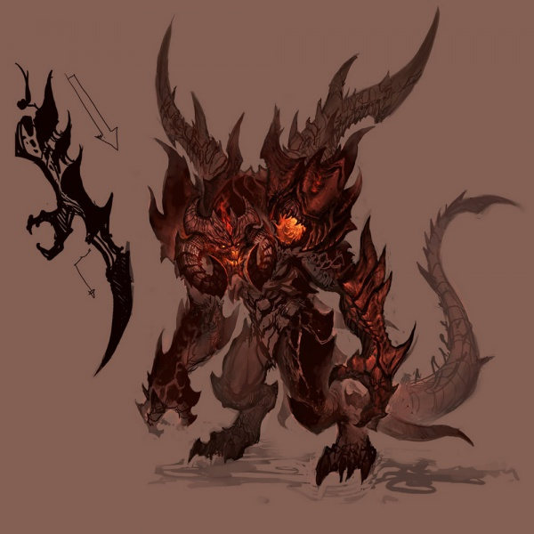 Character Drawings Portraits And Monsters: Diablo III: Ultimate Evil Edition Concept Art