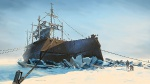 Whaling Ship in Ice