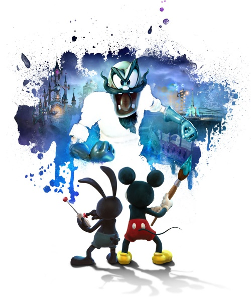 epic mickey 2 the power of two wallpaper