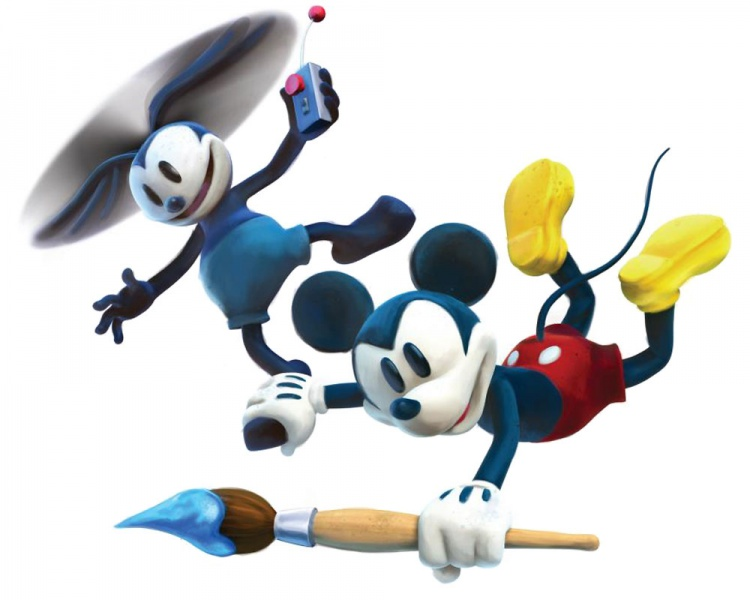 epic mickey coloring pages and print for