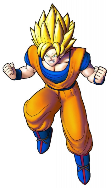 Goku - Dragon Ball: Raging Blast 2 Concept Art