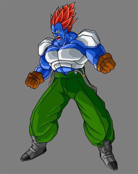 Dragon Ball Z Budokai Tenkaichi 2 Concept Art