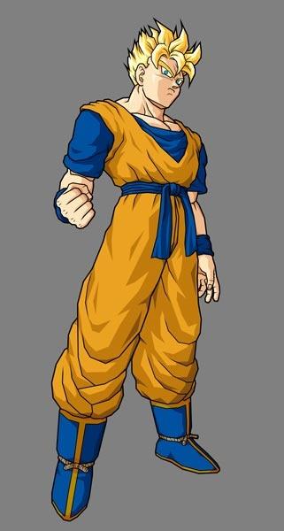 Future Super Saiyan Gohan - Dragon Ball Z: Budokai Tenkaichi 3 Concept Art