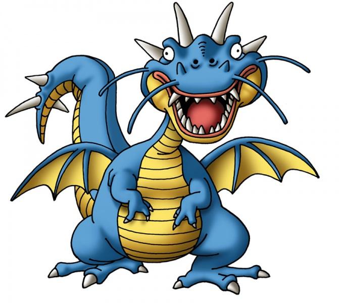 Dragon Quest V Concept Art